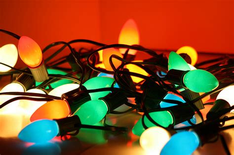 christmas lights small vs large bulbs other topics