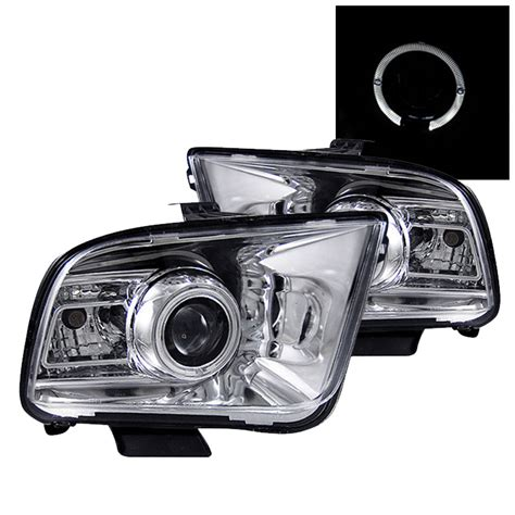 mustang eye headlights 05 09 ford mustang eye halo projector headlights