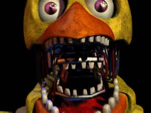 Original project old withered chica scream by gesshoo9999