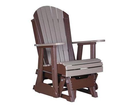 adirondack glider bench 2 adirondack glider deck chair poly gliders sales prices