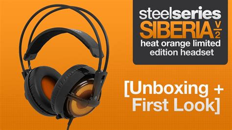 Steelseries Sensei Heat Orange Limited Edition steelseries siberia v2 heat orange limited edition headset unboxing look