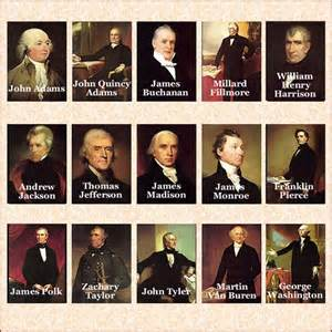 us presidents in order image search results