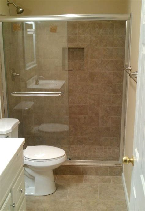 bathroom with standup shower another bath remodel took out the bathtub and installed a
