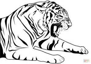 Tiger Coloring Page Free Printable Coloring Pages Tiger Coloring Book Pages