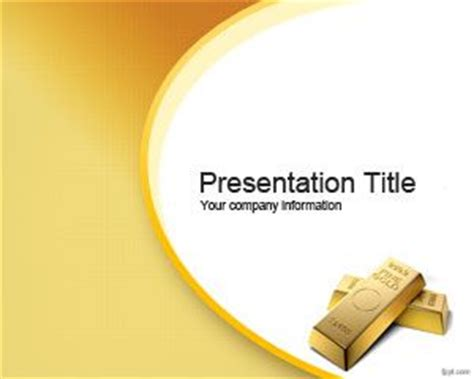 powerpoint themes gold golden opportunity powerpoint template