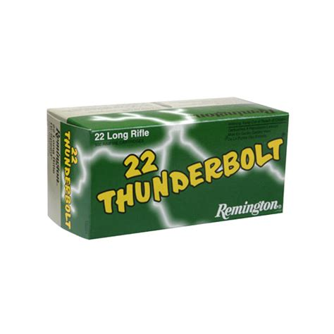 remington thunderbolt 22 ammo remington thunderbolt ammunition 22 long rifle 40 grain