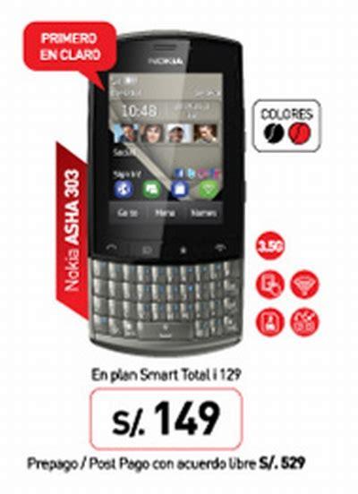 Hp Nokia Asha 303 Second nuevo nokia asha 303 de claro my