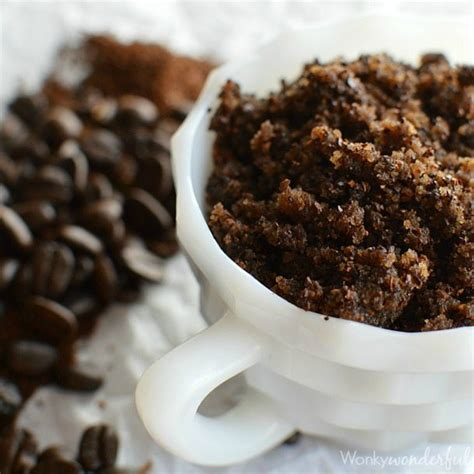 Coffee Scrub coffee scrub wonkywonderful
