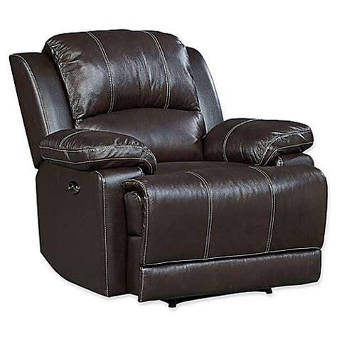 buy leather recliner buy standard furniture mfg audubon manual motion leather