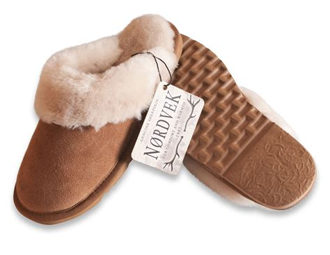 mules slippers nordvek genuine sheepskin slippers mules non slip