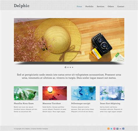 22 high quality free website templates web graphic