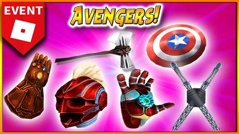 nuevo evento roblox avengers endgame premios