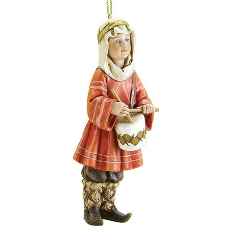 drummer boy christmas ornament the catholic company