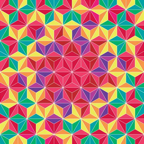 colorful images colorful triangle geometric pattern background