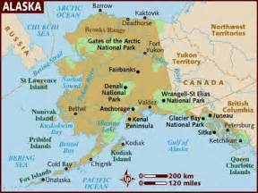 Map Alaska by The Age Case Files Case 309 The History Of Alaska