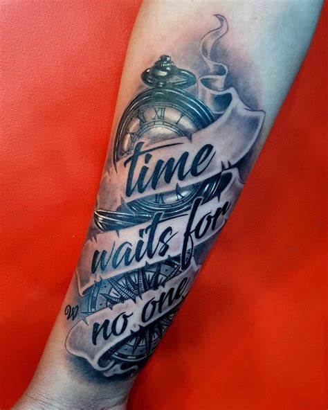 watch tattoo meaning 125 timeless pocket ideas a classic and