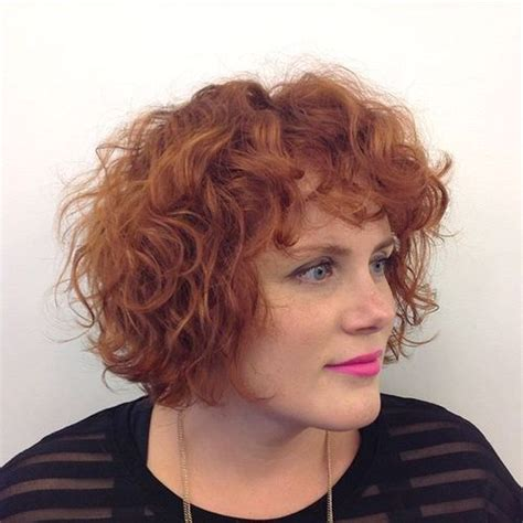 hairstyles featuring curls 40 cute styles featuring curly hair with bangs fringe