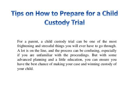7 Tips On Preparing Your Child For A New Sibling by Tips On How To Prepare For A Child Custody Trial