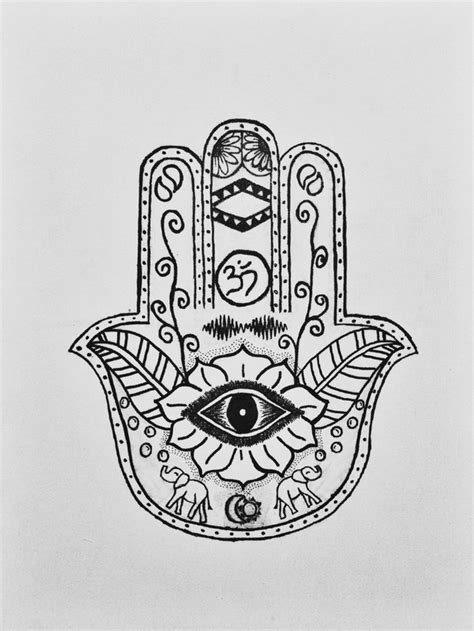 photo collection hamsa hand