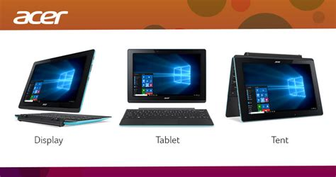 Laptop Acer Yang Bisa Dilepas notebook hybrid terbaik acer aspire switch 10 e sw3 016