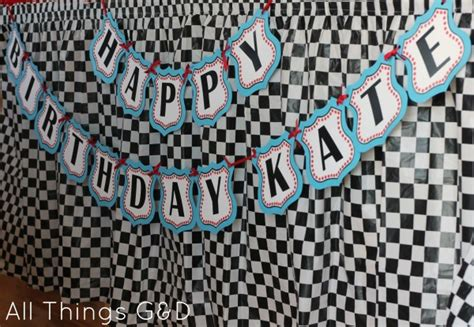 printable cars birthday banner free cars birthday party printables