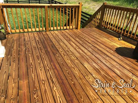 stain seal experts deck stain sealer  gallons fence