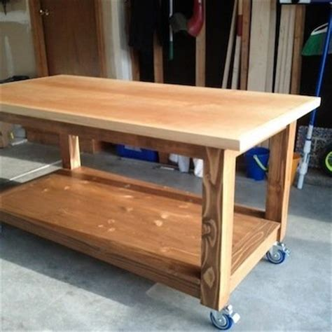 craft bench plans diy craft table workbench and potting table ideas bob vila