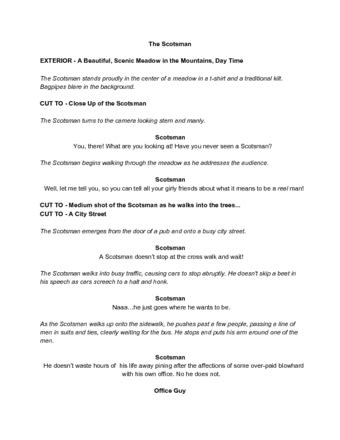skit script template 4 easy ways to write a comedy sketch wikihow