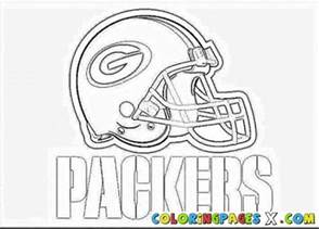 green bay packers coloring pages painted by
