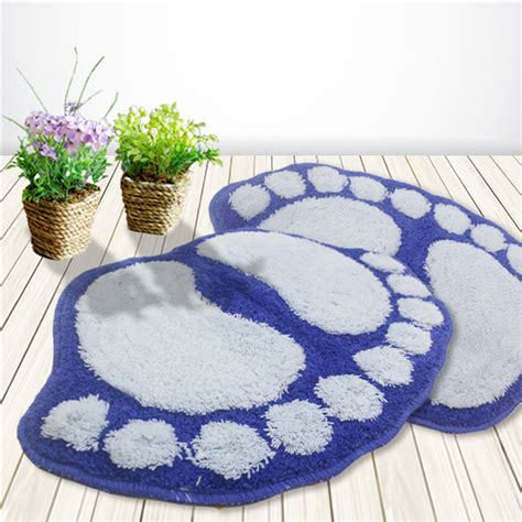 big footprint water absorbent non slip bath mat bathroom
