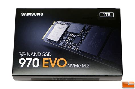 Samsung 970 Evo 1tb by Samsung Ssd 970 Evo Nvme 1tb Ssd Review Legit Reviews970