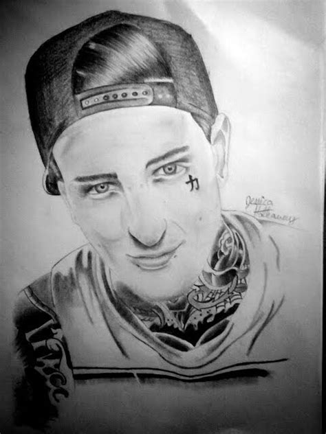 mitch lucker by jessicore666 on deviantart