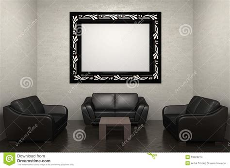 sectional picture frames sofa and picture frame stock images image 19024214