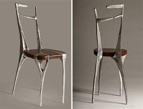 Alu Chair Design Ideas I Make Unique Furniture By Pouring Cast Aluminum Onto Wood Undercut Is A Concept Furniture