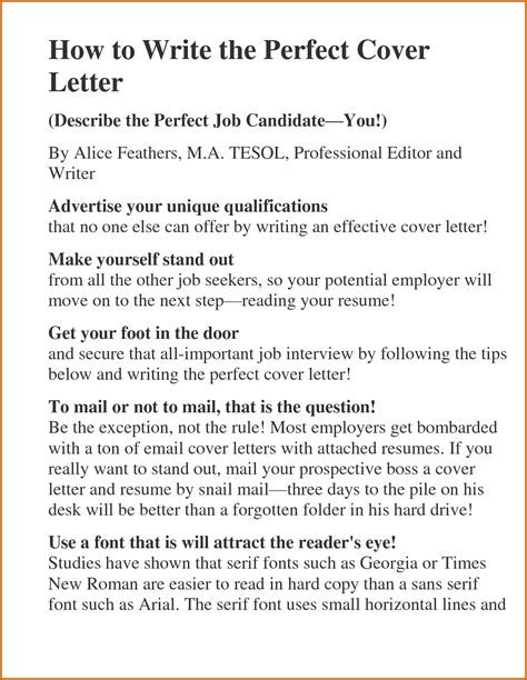 writing an impressive cover letter write an effective cover letter shipment receipt