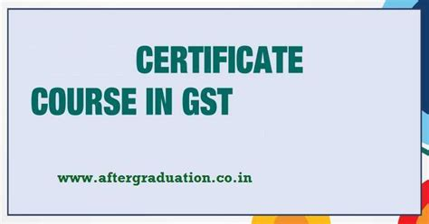 Certification Courses In Finance After Mba by Icai Icmai Launches Certificate Course On Gst Goods And