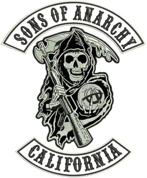 sons of anarchy logo template sons of anarchy this three patch was made only for the