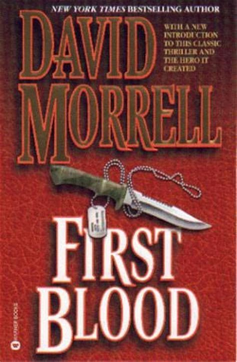 blood a novel books blood blood book 1 by david morrell