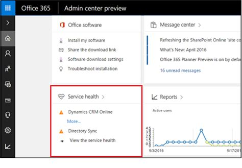 Office 365 Admin Center New Office 365 Admin Center Brings Changes To Crm