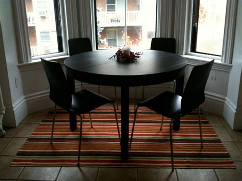 ikea dining table hacks 19 best images about ikea bjursta dining table on