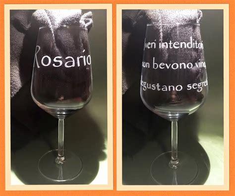 bicchieri personalizzati vetro incisioni su vetro bicchieri personalizzati
