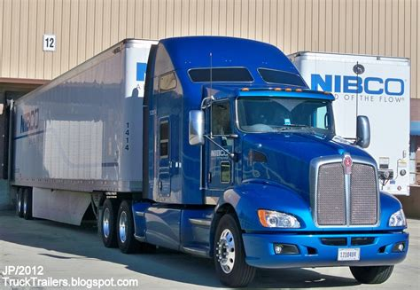 kenworth truck and trailer truck trailer transport express freight logistic diesel