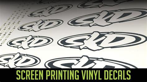 printable vinyl youtube screen printing vinyl decals youtube