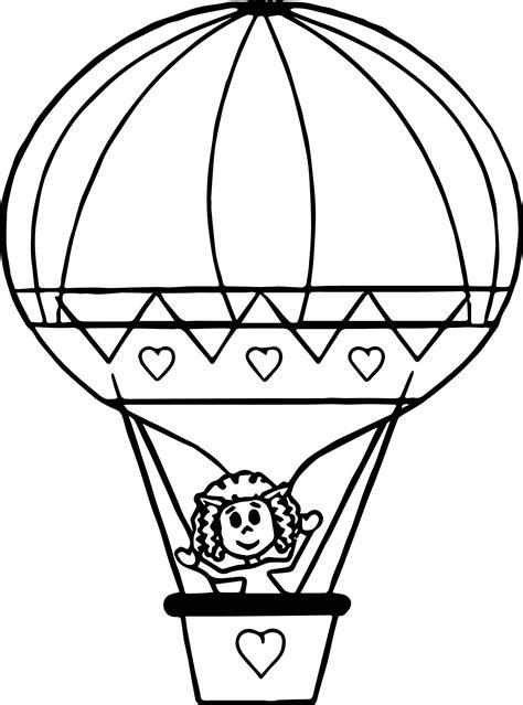 air balloon coloring page air balloon coloring page wecoloringpage
