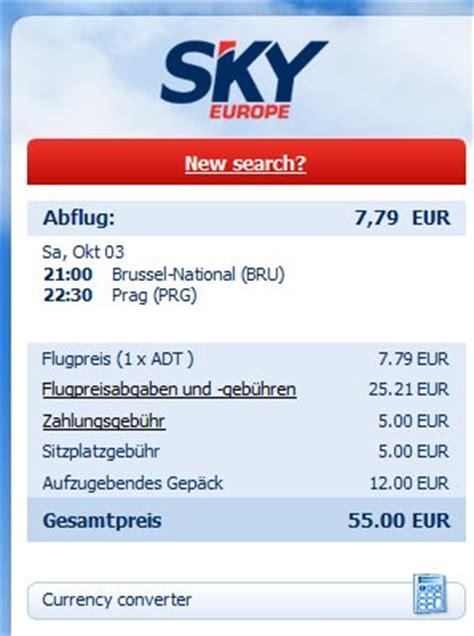 Beschwerdebrief Lufthansa Billigflieger Skyeurope Ich Brech Zusammen 171 Reiseinfos Im