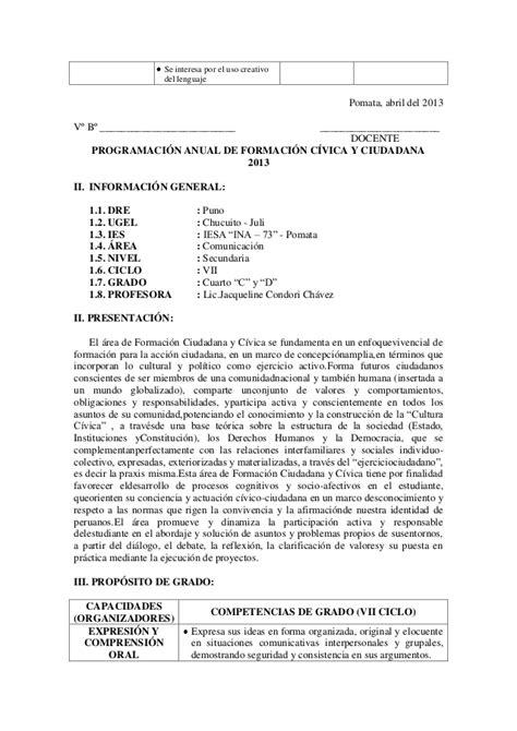 programacion anual de comunicacion programaci 243 n anual de comunicaci 243 n