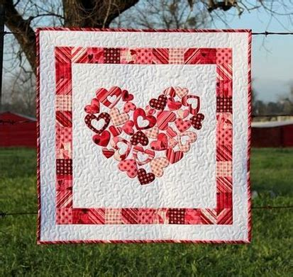 pattern for heart quilt the best heart quilt designs patterns for valentine s day