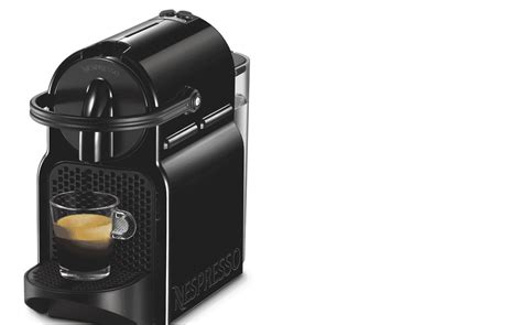 nespresso en80bae delonghi inissia capsule coffee machine black at the guys