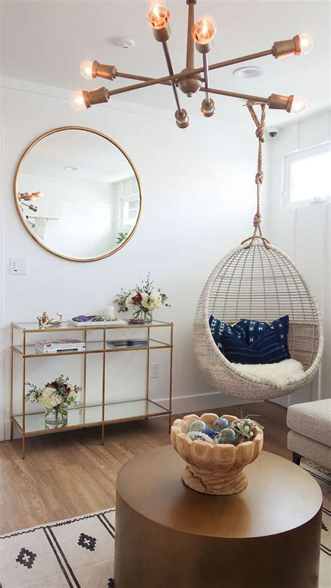 hanging chair for room hanging chair roundup styling ideas daly digs