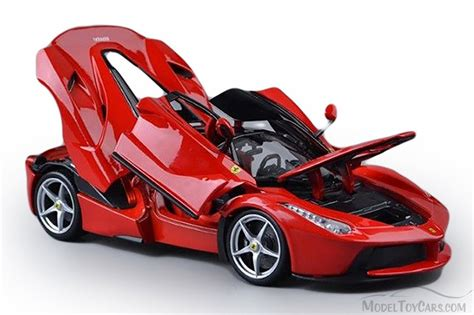 toy ferrari model cars laferrari red bburago 16901 1 18 scale diecast model
